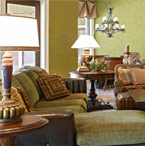 Family Room Photos by Dave Brewer Custom Homes