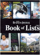 Dave Brewer Custom Homes in Orlando Business Journal Book of Lists