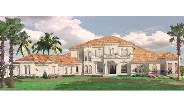 Florida custom home plan design sedona dave brewer inc for Custom home plans florida
